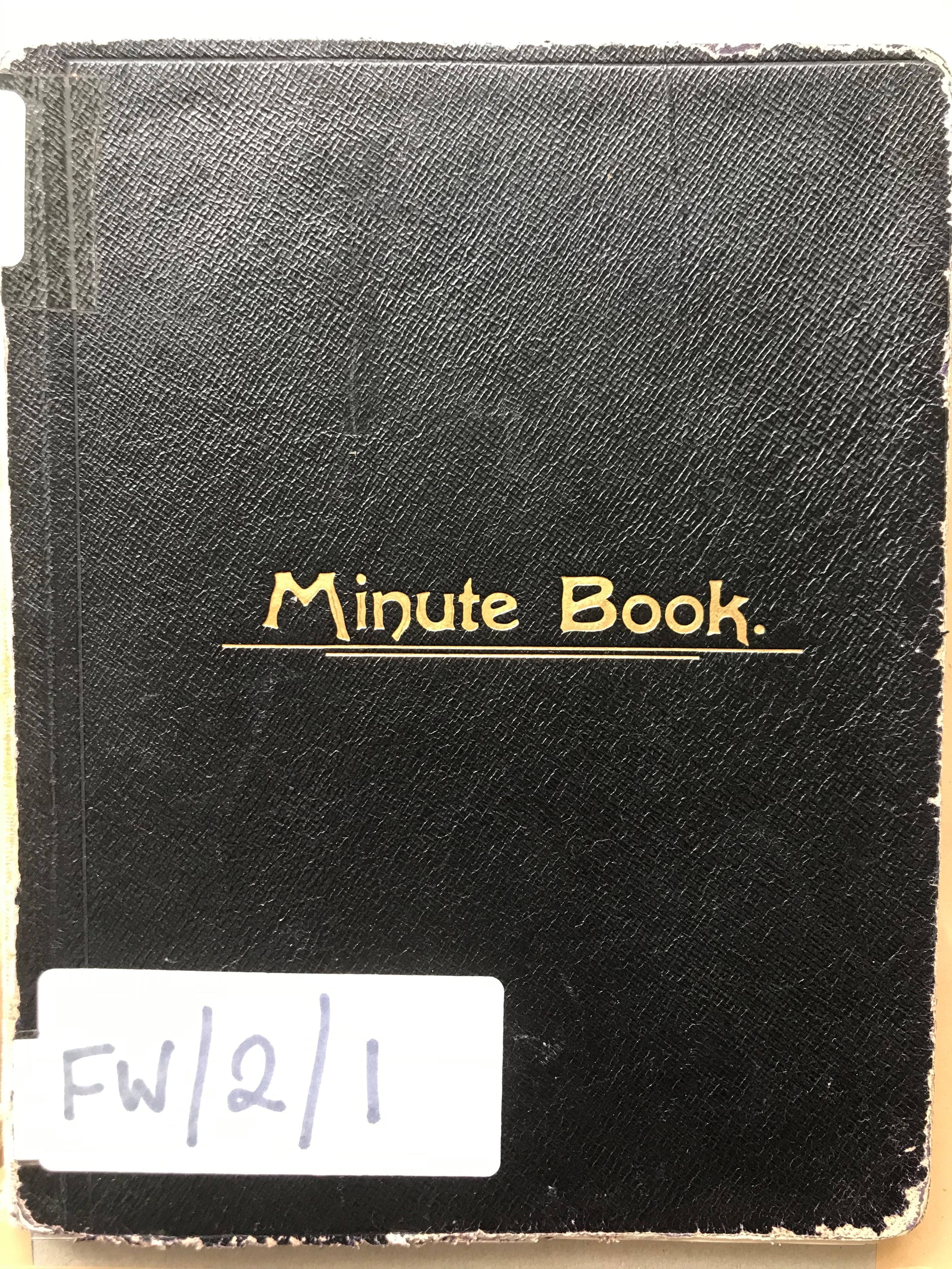 Minute Book FW 2 11